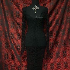 Vintage Lip Service Fishnet Dress ♰